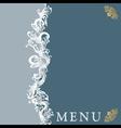menu20 vector image vector image