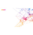 network background abstract connect technology vector image vector image