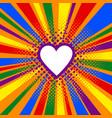 Rainbow or pride flag lgbt banner