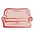 abstract sofa vector image