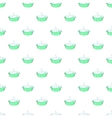 Bath for baby pattern cartoon style vector image vector image