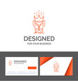 business logo template for crown honor king vector image