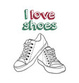 for logo - shoe store vector image vector image