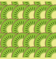 kiwi fruit seamless pattern vector image