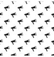 Loudspeaker pattern simple style vector image vector image