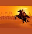 saladin ibn ayyub vector image vector image