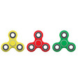 spinner new popular anti-stress toy vector image