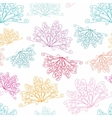 White abstract pattern vector image vector image