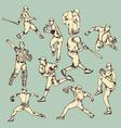Baseball Sport Action vector image