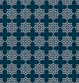 3d seamless pattern in arabic style vector image vector image