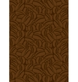 background of the coffee beans vector image vector image