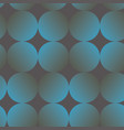blue and gray gradient circle seamless pattern vector image vector image