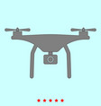 drone it is icon vector image