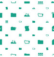 folder icons pattern seamless white background vector image vector image