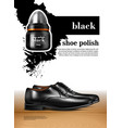 men shoes realistic set vector image