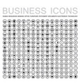 set of 224 web icons for business finance office vector image