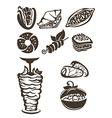 turkish food vector image