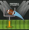 american football superbowl vector image