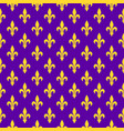 bright purple royal seamless pattern vector image vector image