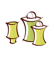 icon pepper shaker vector image vector image