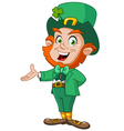 Leprechaun presenting vector | Price: 3 Credits (USD $3)