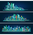 Modern city life abstract background design with vector image vector image