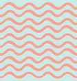 abstract ocean wave seamless pattern wavy line vector image vector image