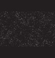 black distressed grunge texture background vector image