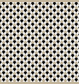 brown geometric seamless pattern background vector image vector image