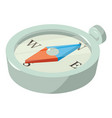 compass icon isometric 3d style vector image