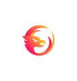 eagle bird logo vector image vector image