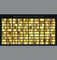 huge big collection golden gradients vector image