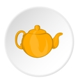 Kettle for tea icon cartoon style vector image vector image