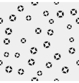Seamless pattern with lifebuoys Can be vector image vector image
