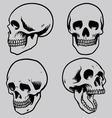 Skull set vector | Price: 1 Credit (USD $1)