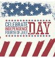 Independence Day Design template Celebration vector image