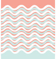 abstract wave seamless pattern wavy geometric vector image vector image