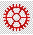 Clock Wheel Icon vector image vector image