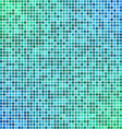 Green blue pixel mosaic background vector image vector image