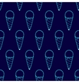 Ice Cream Easy Pattern Linear-31 vector image vector image