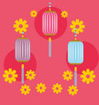 japanese kokeshi doll kimono vector image vector image
