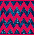 retro blue color zigzag seamless pattern vector image vector image