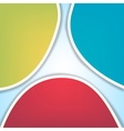 rgb abstract background vector image