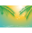 seacoast vector image vector image