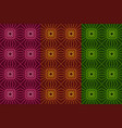 seamless pattern with dark squares and lines vector image