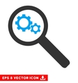 Search Gears Tool Eps Icon vector image vector image