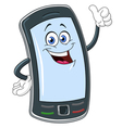 Smart phone cartoon vector | Price: 1 Credit (USD $1)