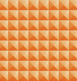 triangle orange jewel texture seamless background vector image vector image