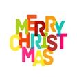 Merry Christmas Card - EPS10 vector image