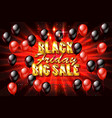big sale black friday vector image
